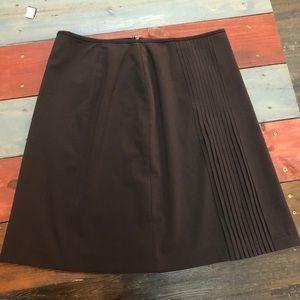 🎉3/$35 Worthington Chocolate Skirt
